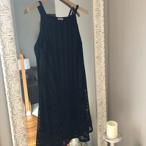 Westport Midi Dress, Black size L